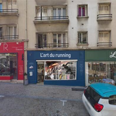 Vue extérieur magasin L'Art du Running - Rueil Malmaison